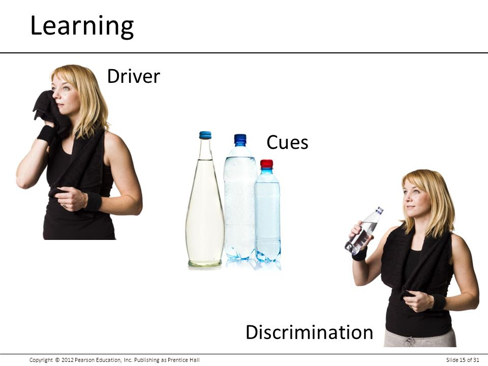 Learning Driver Cues Discrimination