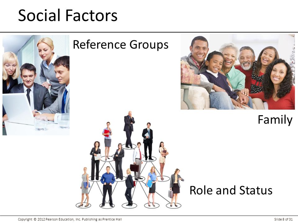 Social Factors Reference Groups Family Role and Status Social Factors