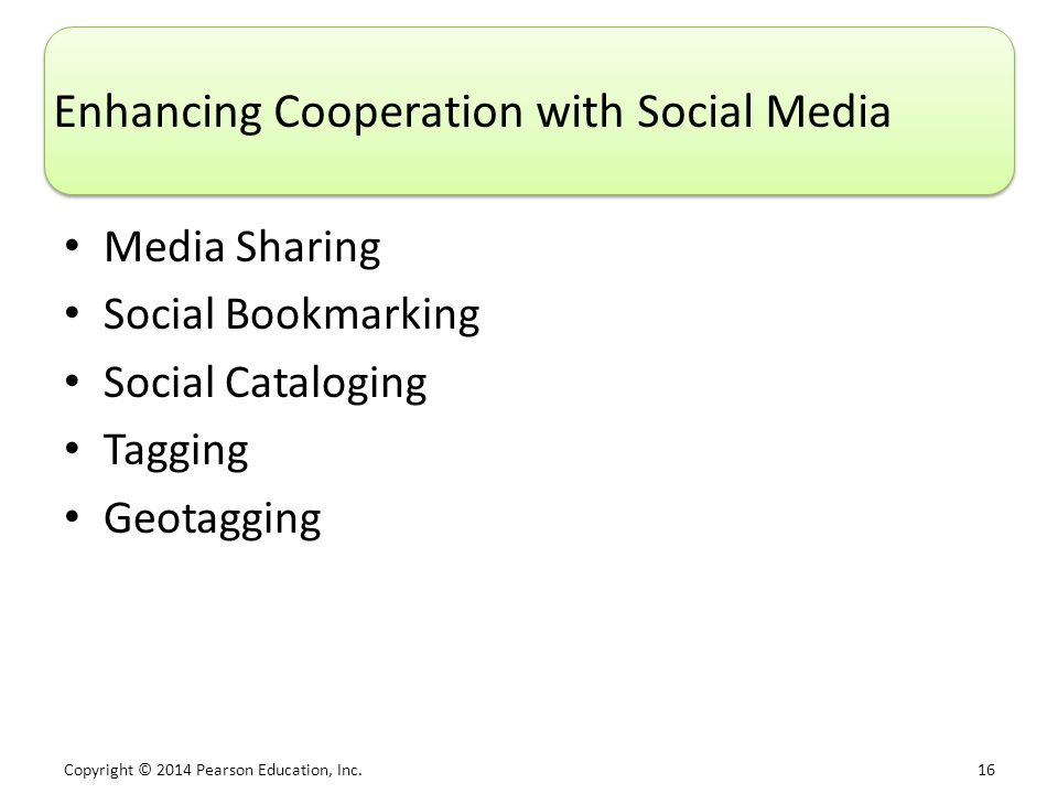 Enhancing Cooperation with Social Media