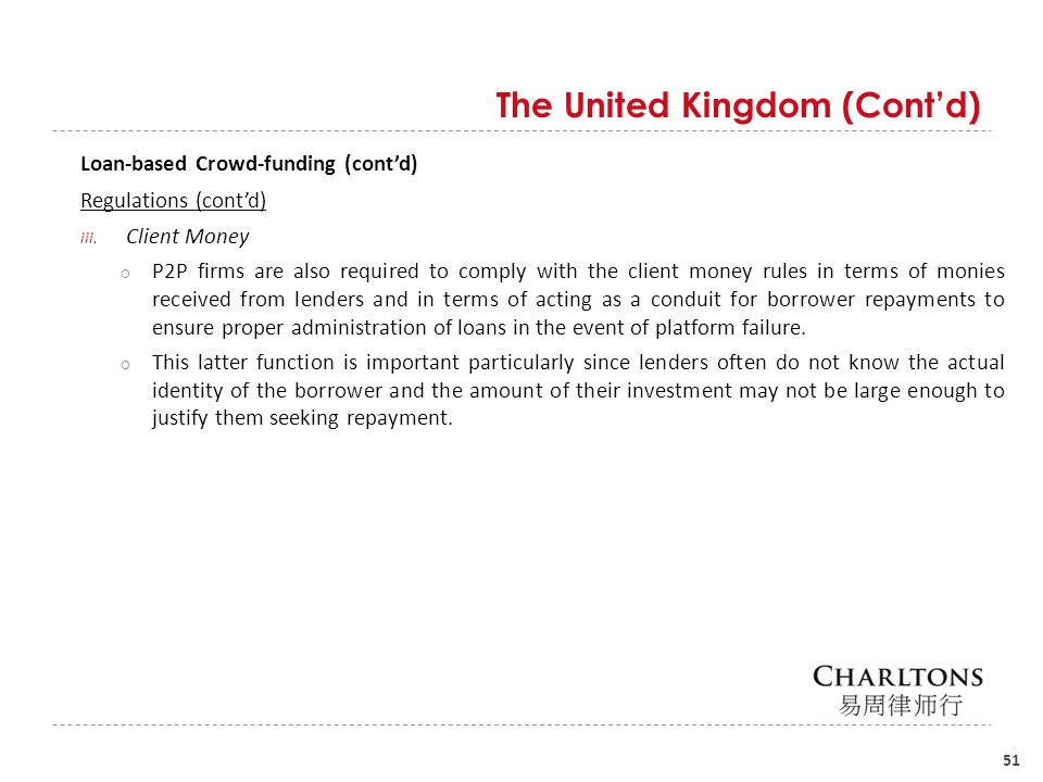 Crowd-funding Regulation - ppt download