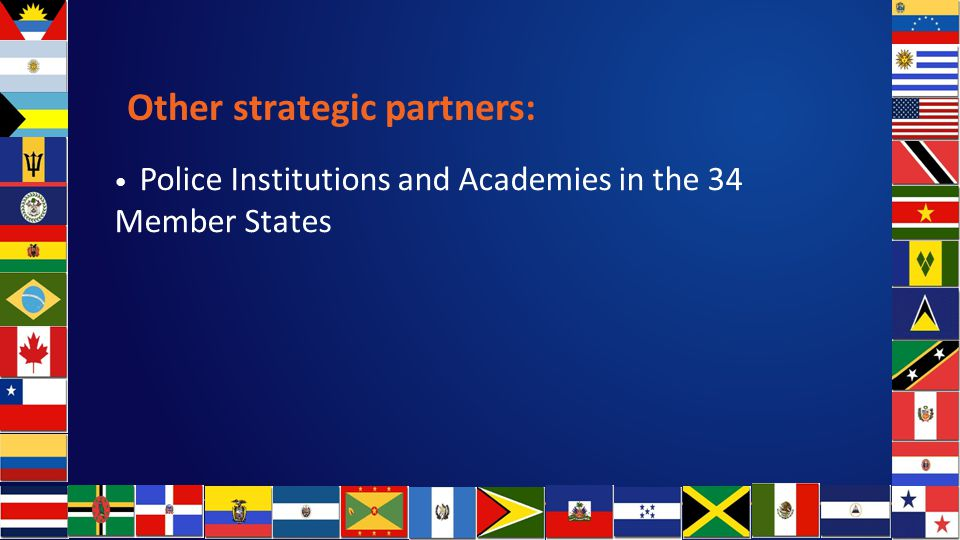 Other strategic partners: