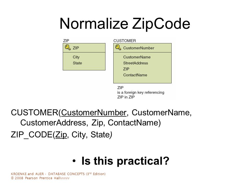 Database Lecture Notes Normalization 3 – Denormalization - ppt video