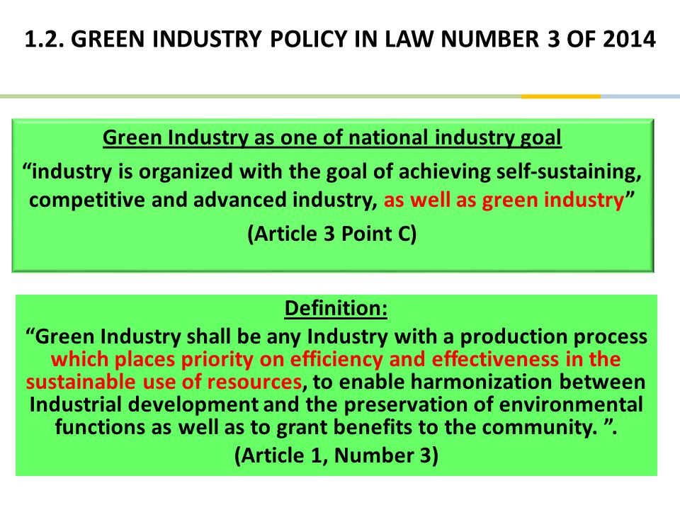 GREEN TRANSPORTATION AND ICT INDUSTRIES DEVELOPMENT IN