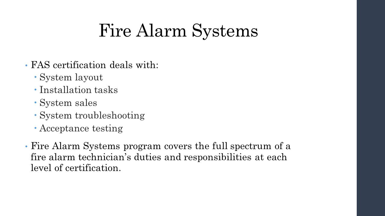 Inspection And Testing Of Fire Alarm Systems Itfas Ppt Video