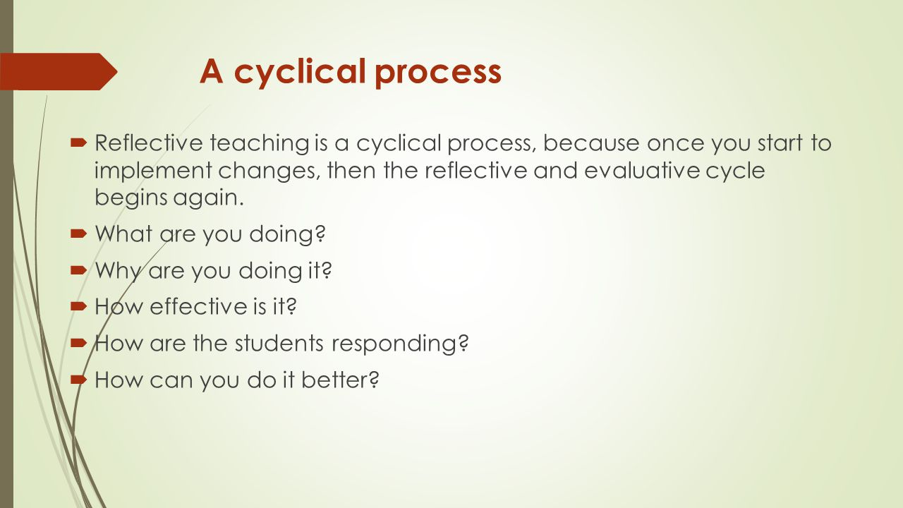 A cyclical process