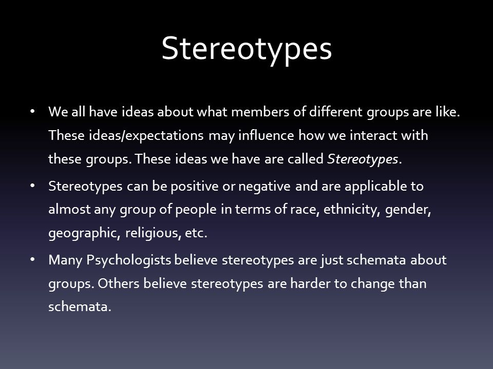 how to change negative beliefs stereotypes