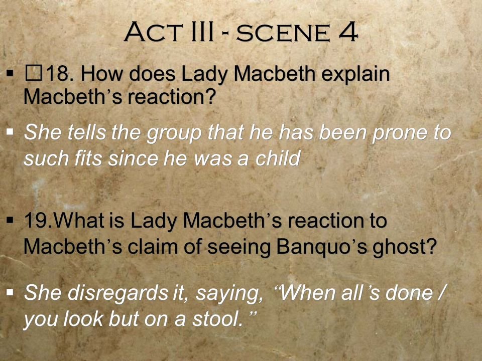 what is macbeths reaction to lady macbeths death