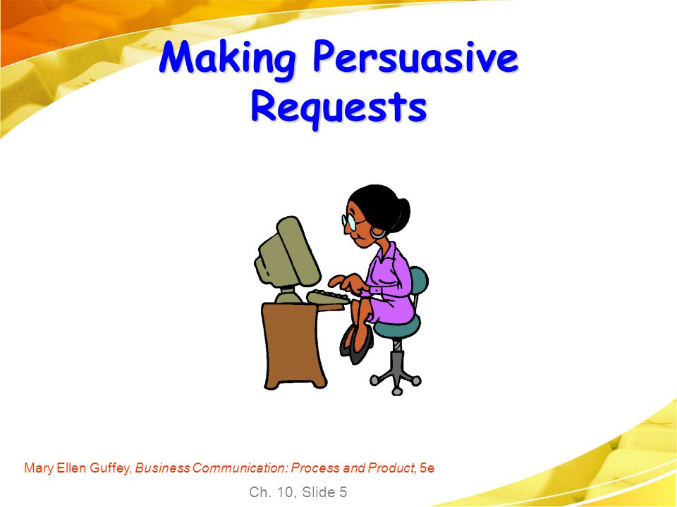 Making Persuasive Requests