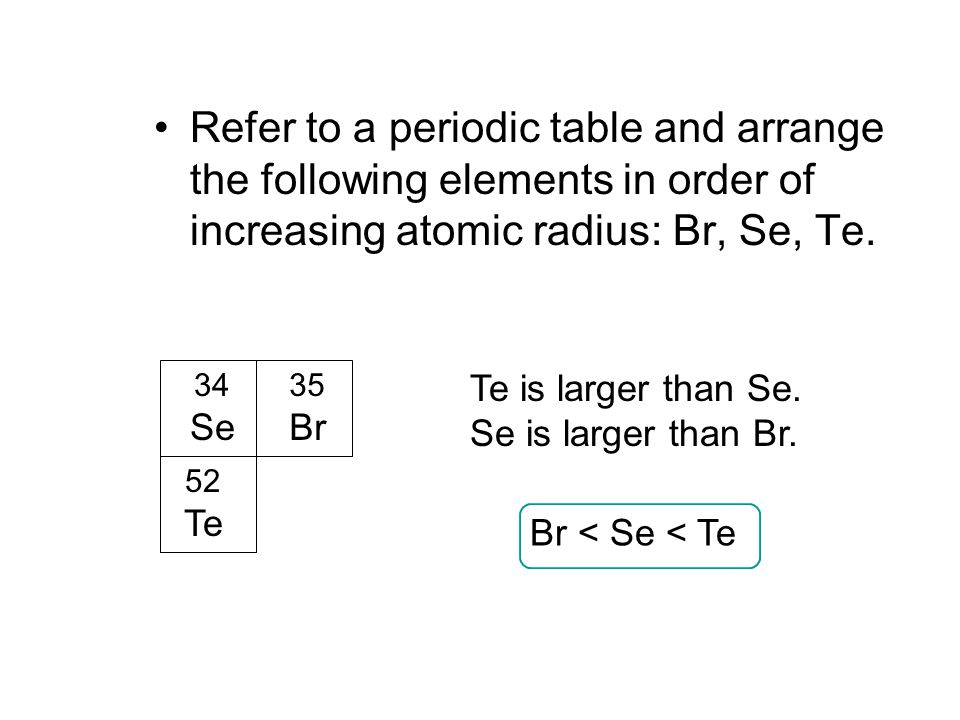 Figure 812 a periodic table illustrating the building up order refer to a periodic table and arrange the following elements in order of increasing atomic radius urtaz Image collections
