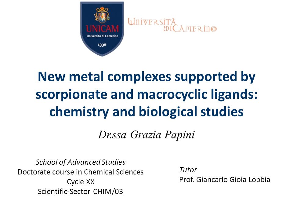 New metal complexes supported by scorpionate and macrocyclic ligands: chemistry and biological studies