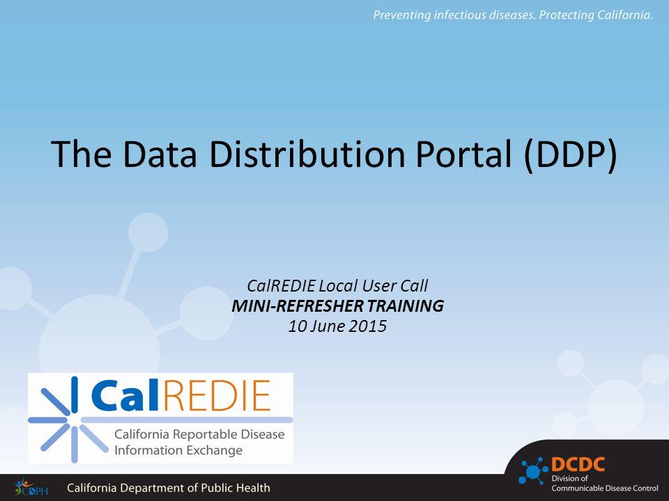The Data Distribution Portal (DDP) - ppt download