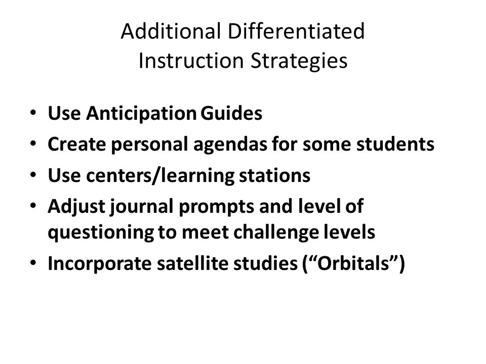 Differentiated Instruction And Critical Thinking Ppt Download