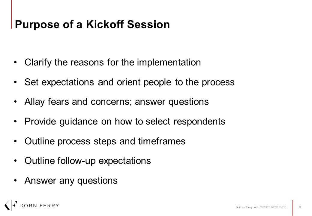 PROFILOR® Kickoff Session Name of Presenter Date  - ppt download