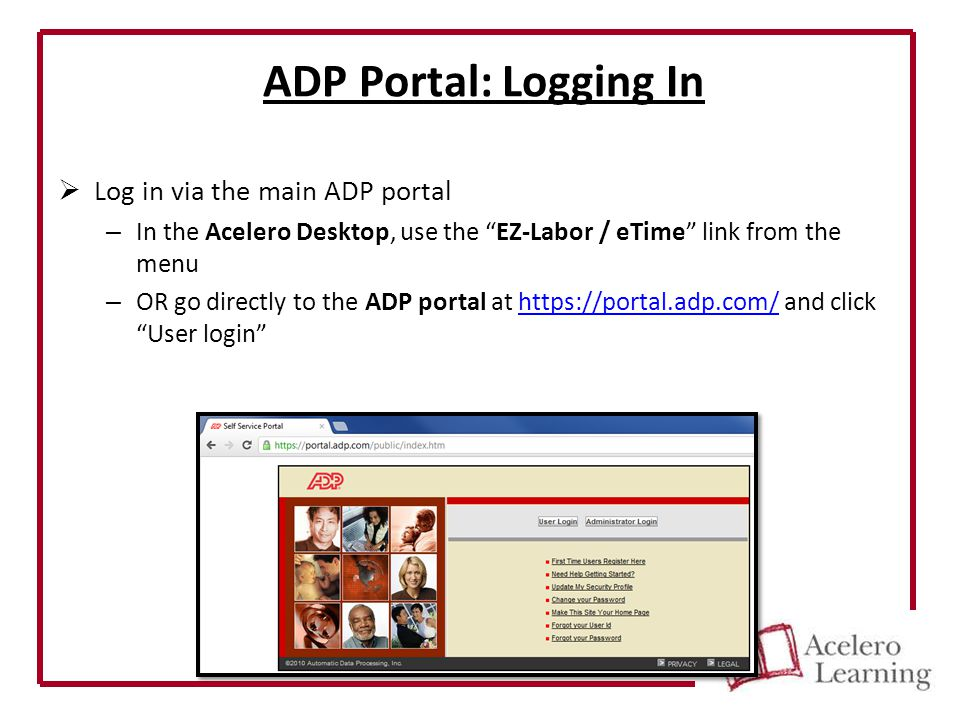 ADP E-Time Basic User Tutorial Non-Webclocking Employee