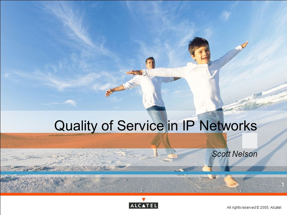 Quality of Service in IP Networks