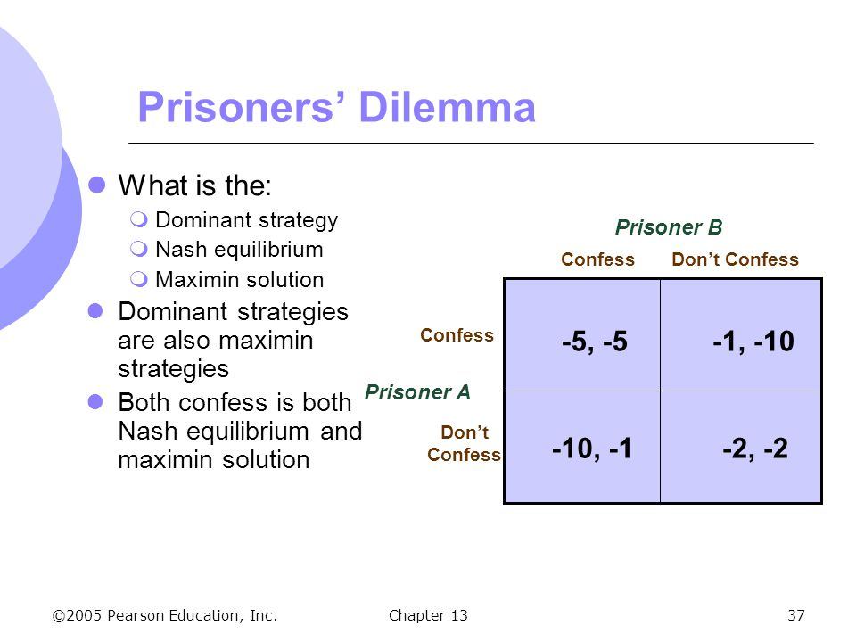 Chapter 13 game theory and competitive strategy.
