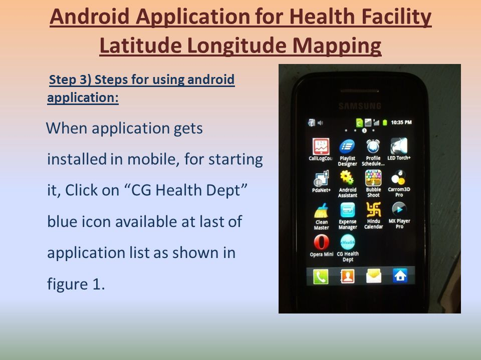 Android Application for Health Facility - ppt download