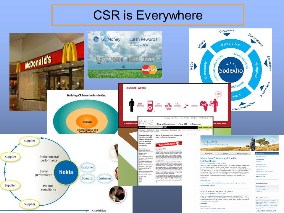 CSR is Everywhere