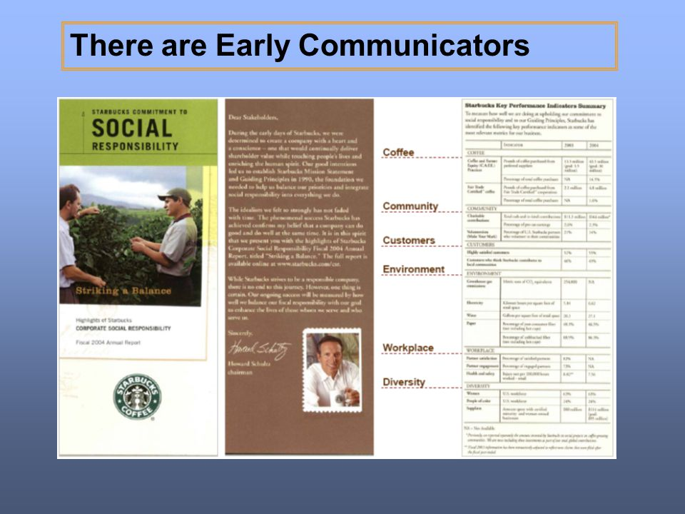There are Early Communicators