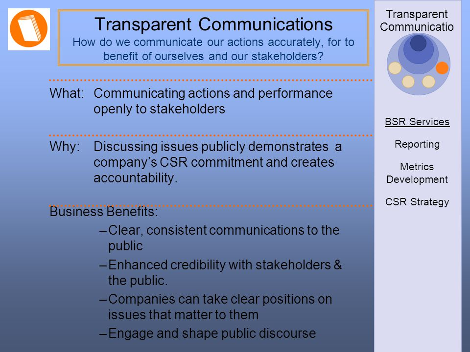 Transparent Communications