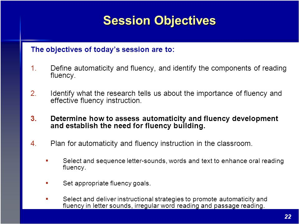 Automaticity And Fluency With Connected Text Planning For