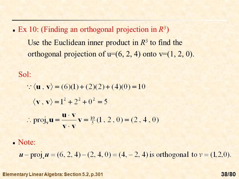how to find an orthogonal vector