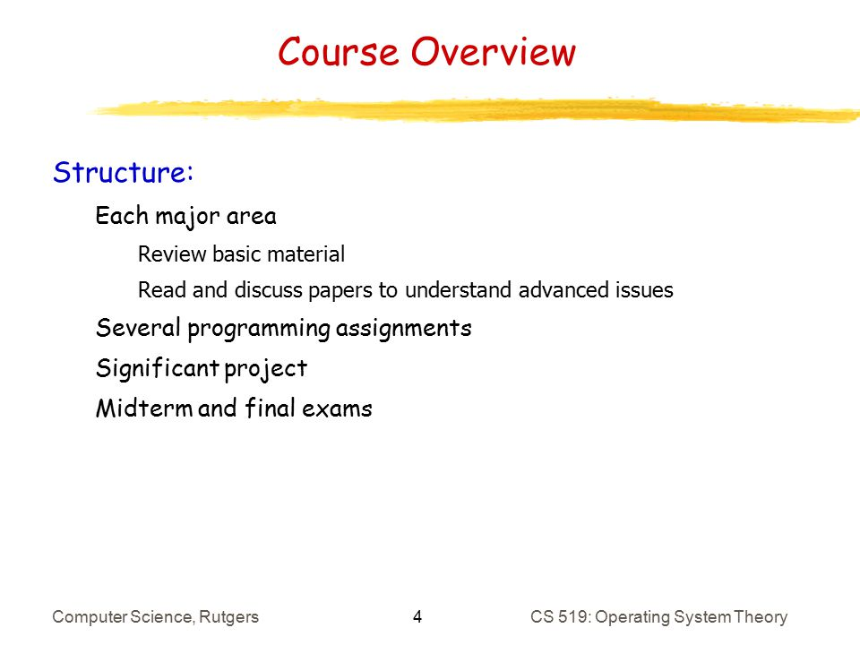 Introduction & Architecture Refresher - ppt download