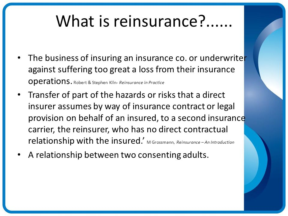 relationship between insurance broker and underwriter