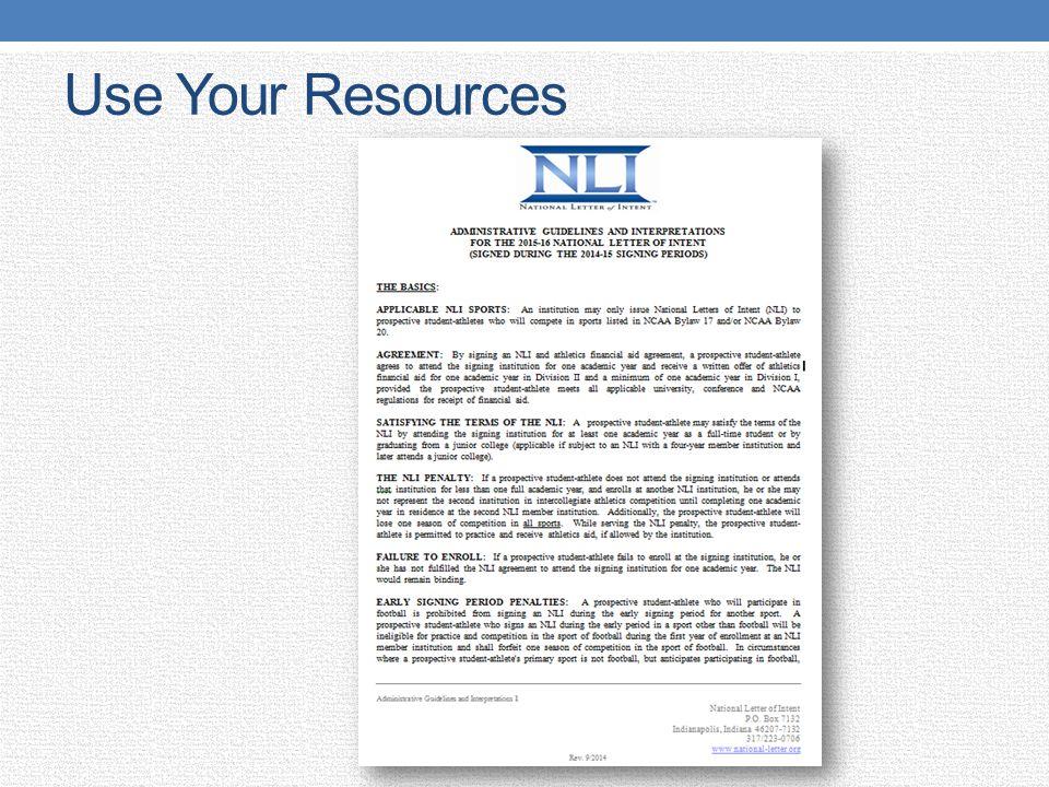 National Letter of Intent - ppt video online download