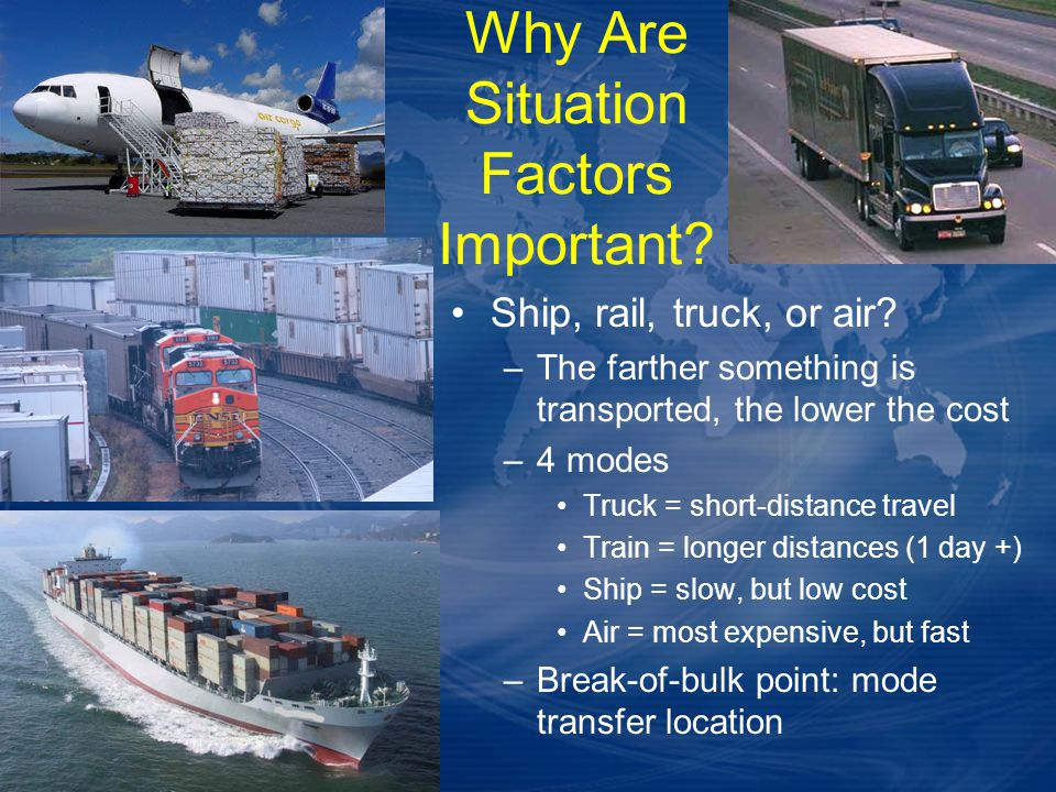 Why Are Situation Factors Important
