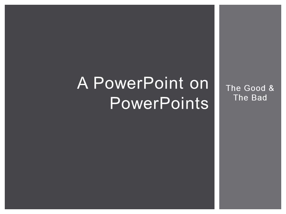 a powerpoint on powerpoints ppt download