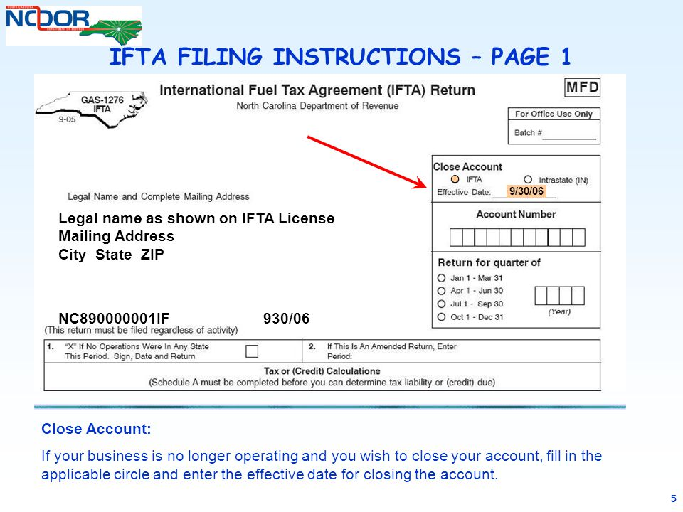 Completing an amended ifta tax return ppt download.