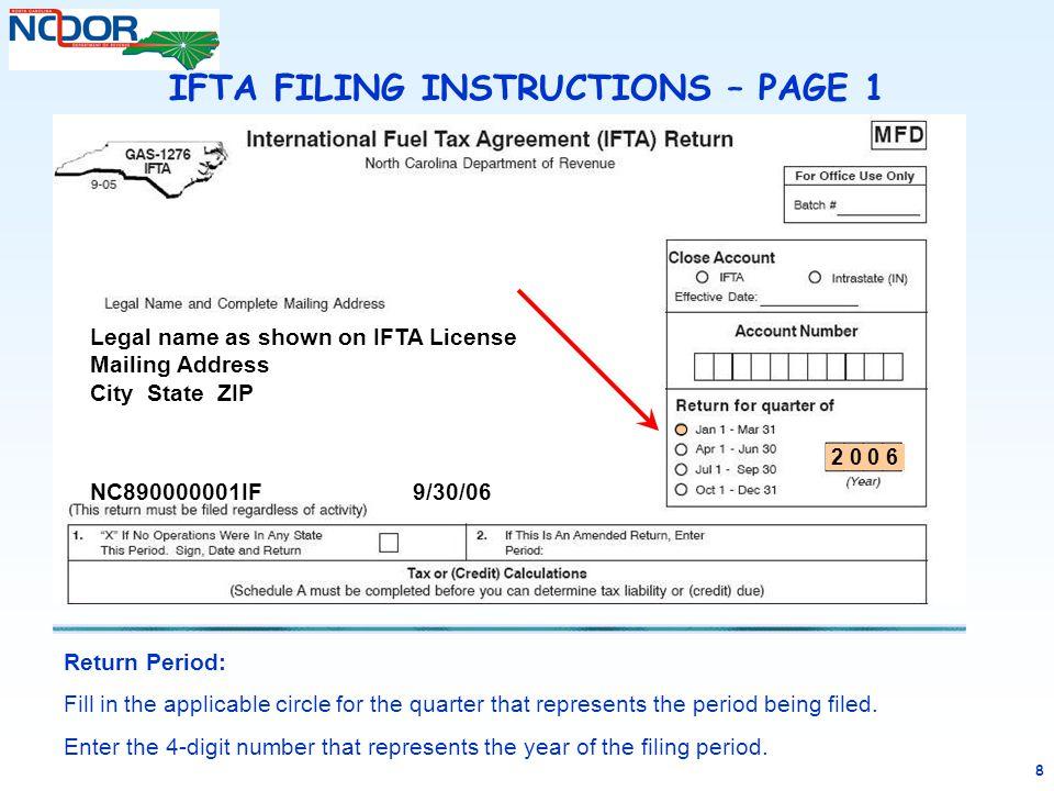 Form ifta13 fillable international fuel tax agreement (ifta.