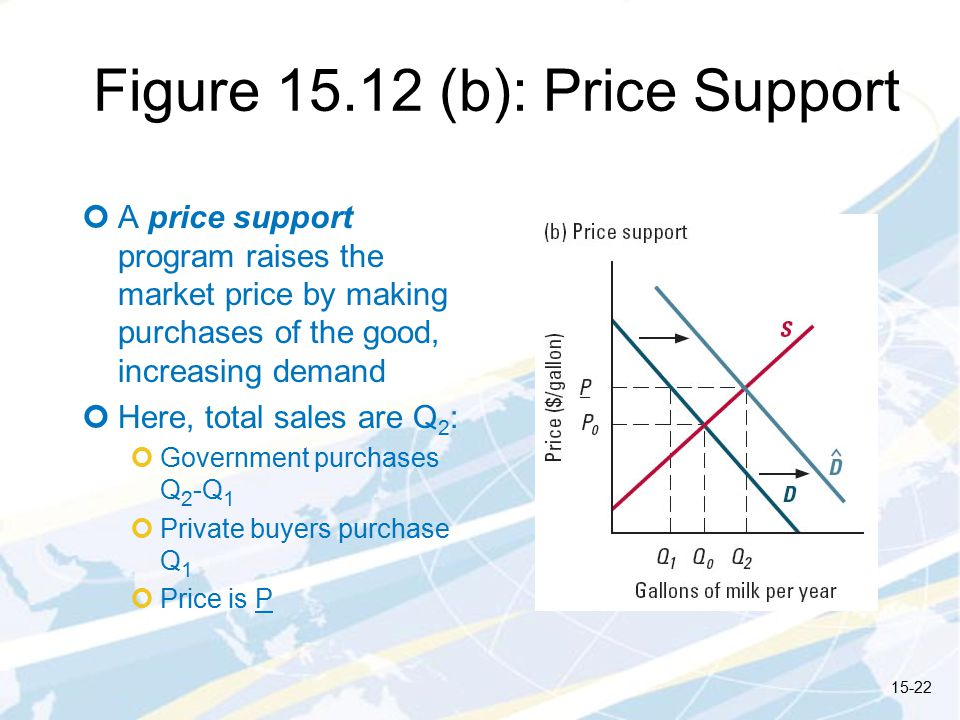 Figure (b): Price Support
