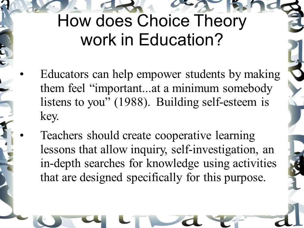 Choice Theory Glasser Pdf