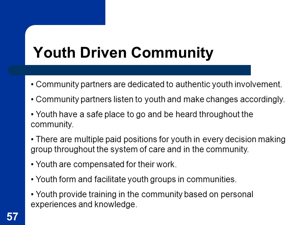 Youth Driven Community