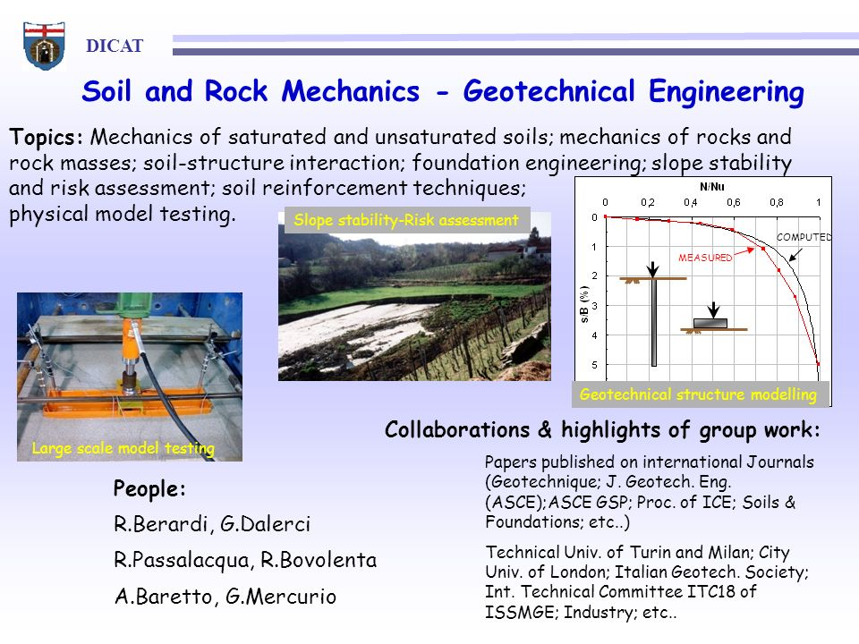 Soil and Rock Mechanics - Geotechnical Engineering