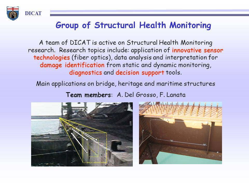 Group of Structural Health Monitoring