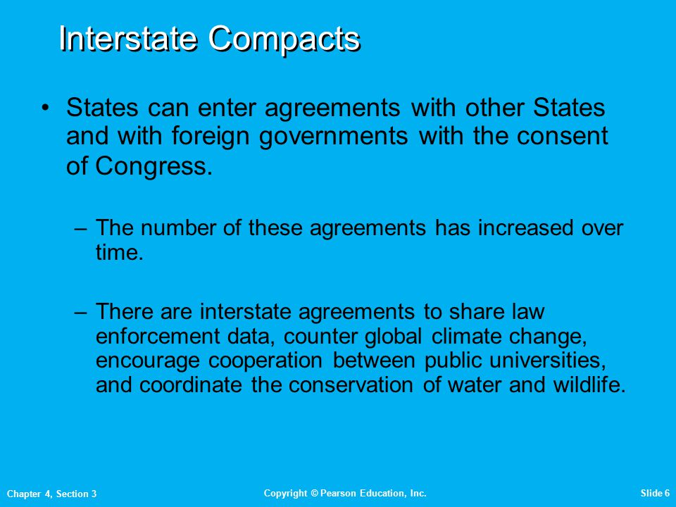 Objectives Explain Why States Make Interstate Compacts Ppt Video
