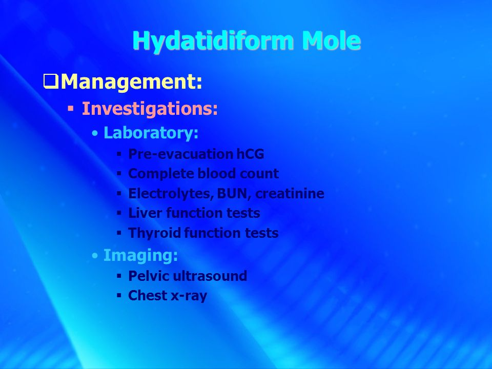 GESTATIONAL TROPHOBLASTIC Assistant Prof. & Consultant ...