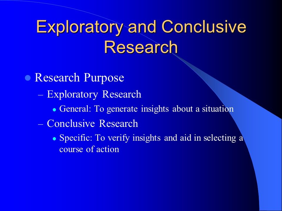 A Presentation of the Methodology Used in an Exploratory ...