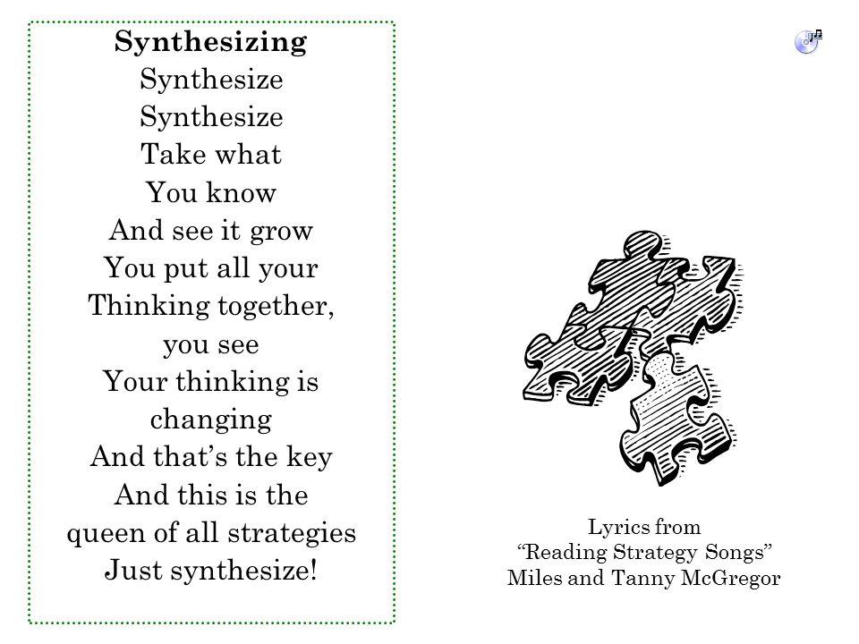 Lyric queen songs lyrics : Comprehension Connections: Bridges to Strategic Reading - ppt ...