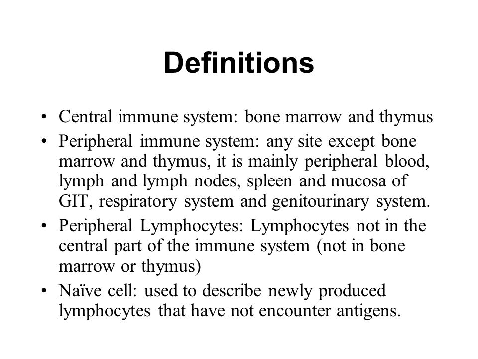 Cells of the Immune System - ppt video online download