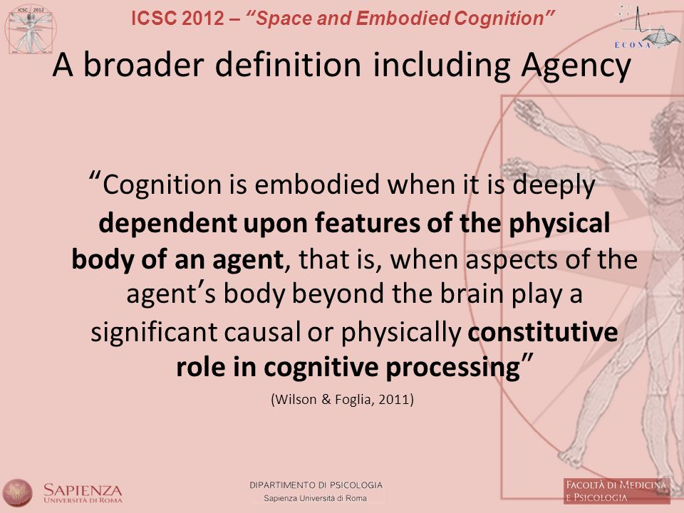 A broader definition including Agency
