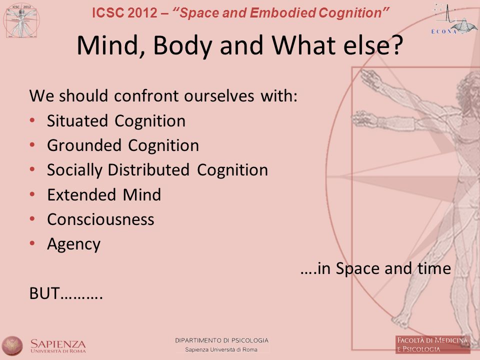 Mind, Body and What else We should confront ourselves with: