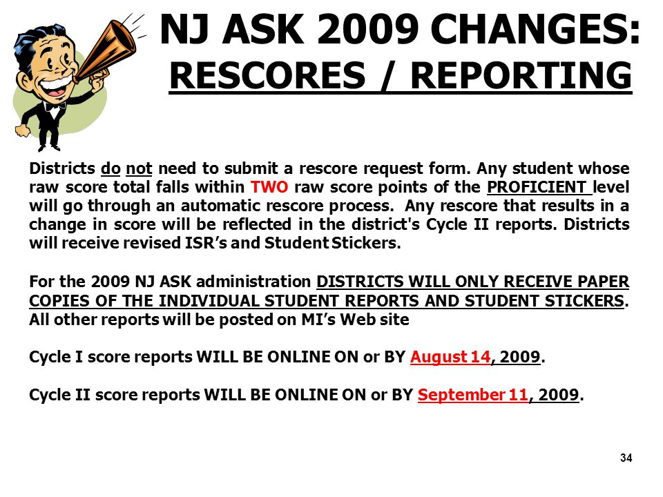 welcome district test coordinator training ppt download rh slideplayer com NJ Ask Writing Prompts NJ 6 Point Writing Rubric