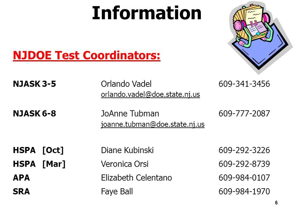 welcome district test coordinator training ppt download rh slideplayer com NJ Ask Writing Prompts NJ Ask Writing Prompts