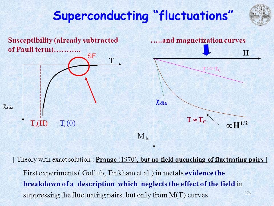 Superconducting fluctuations