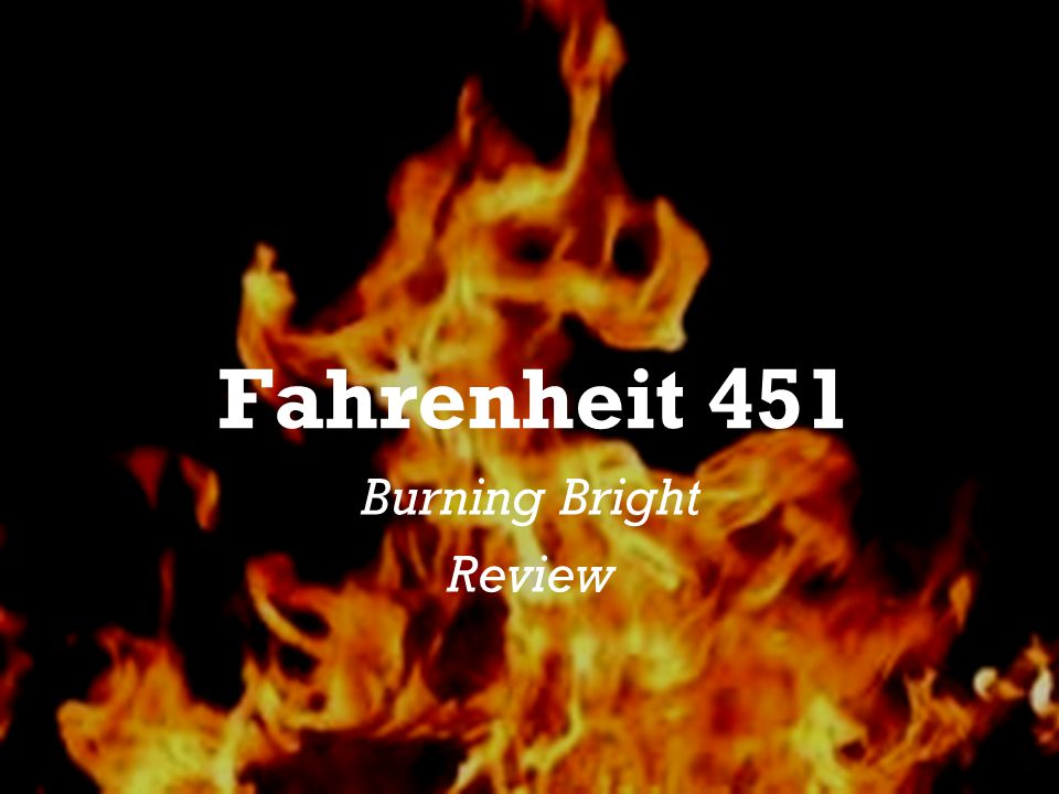 fahrenheit 451 social criticism Here are the directions: scholars, write a four paragraph paper explaining two things in our society that ray bradbury is criticizing in his book fahrenheit 451 choose two parts or ideas in the novel that work as social criticism keep each of the two ideas separate in their own paragraphs in each body paragraph, explain how bradbury criticizes society.