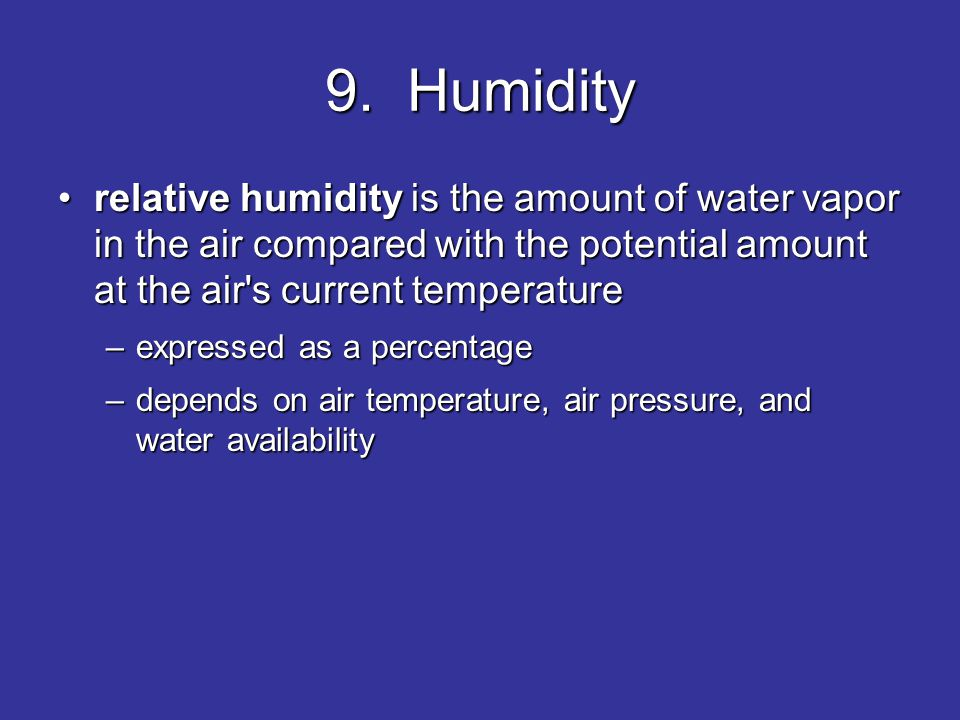 AIR, CLIMATE, AND WEATHER - ppt video online download